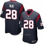 Camiseta Houston Texans Blue Negro Nike Game NFL Nino