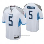Camiseta NFL Game Hombre Tennessee Titans Logan Woodside Blanco