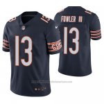 Camiseta NFL Limited Chicago Bears Bennie Fowler Iii Azul Vapor Untouchable