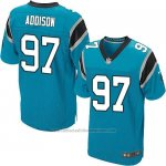 Camiseta Carolina Panthers Addison Azul Nike Elite NFL Hombre
