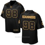 Camiseta Washington Redskins Ioannidis Negro 2016 Nike Elite Pro Line Gold NFL Hombre