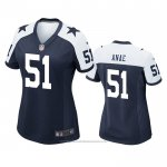 Camiseta NFL Game Mujer Dallas Cowboys Bradlee Anae Alterno Azul