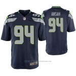 Camiseta NFL Game Seattle Seahawks Ezekiel Ansah Azul