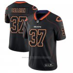 Camiseta NFL Limited Chicago Bears Bryce Callahan Negro Color Rush 2018 Lights Out