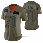 Camiseta NFL Limited Mujer Buffalo Bills Cody Ford 2019 Salute To Service Verde