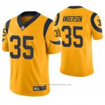 Camiseta NFL Limited Hombre St Louis Rams C.j. Anderson Oro Color Rush