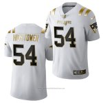 Camiseta NFL Limited New England Patriots Dont'a Hightower Golden Edition 2020 Blanco
