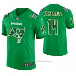 Camiseta NFL Limited Hombre Tampa Bay Buccaneers Ryan Fitzpatrick St. Patrick's Day Verde