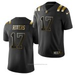 Camiseta NFL Limited New England Patriots Philip Rivers Golden Edition Negro