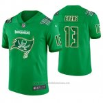 Camiseta NFL Limited Hombre Tampa Bay Buccaneers Mike Evans St. Patrick's Day Verde