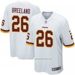 Camiseta Washington Redskins Breeland Blanco Nike Game NFL Nino