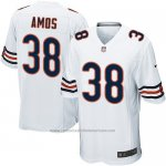 Camiseta Chicago Bears Amos Blanco Nike Game NFL Nino