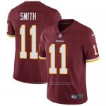 Camiseta NFL Limited Hombre Washington Redskins 11 Alex Smith Burgundy Rojo Stitched Vapor Untouchable