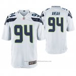 Camiseta NFL Game Seattle Seahawks Ezekiel Ansah Blanco