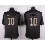 Camiseta New Orleans Saints Cooks Apagado Gris Nike Anthracite Salute To Service NFL Hombre