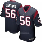 Camiseta Houston Texans Cushing Negro Nike Game NFL Hombre