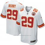 Camiseta Kansas City Chiefs Berry Blanco Nike Game NFL Nino