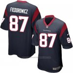 Camiseta Houston Texans Fiedorowicz Negro Nike Game NFL Hombre
