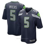 Camiseta NFL Game Seattle Seahawks Jason Myers Azul