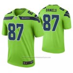 Camiseta NFL Limited Seattle Seahawks Darrell Daniels Verde Color Rush