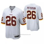 Camiseta NFL Game Washington Redskins Adrian Peterson Blanco