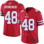Camiseta Buffalo Bills Gronkowski Rojo Nike Legend NFL Hombre