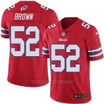 Camiseta Buffalo Bills Brown Rojo Nike Legend NFL Hombre2