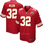 Camiseta Kansas City Chiefs Allen Rojo Nike Game NFL Nino