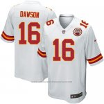 Camiseta Kansas City Chiefs Dawson Blanco Nike Game NFL Nino
