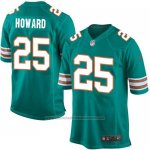 Camiseta Miami Dolphins Howard Verde Oscuro Nike Game NFL Hombre