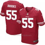 Camiseta San Francisco 49ers Brooks Rojo Nike Elite NFL Hombre