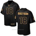 Camiseta Washington Redskins Doctson Negro 2016 Nike Elite Pro Line Gold NFL Hombre