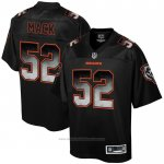Camiseta NFL Limited Chicago Bears Mack Smoke Fashion Negro2