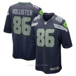 Camiseta NFL Game Seattle Seahawks Jacob Hollister Azul