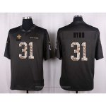 Camiseta New Orleans Saints Byad Apagado Gris Nike Anthracite Salute To Service NFL Hombre