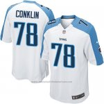 Camiseta Tennessee Titans Conklin Blanco Nike Game NFL Nino