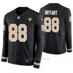 Camiseta NFL Hombre New Orleans Saints Dez Bryant Negro Therma Manga Larga