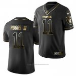 Camiseta NFL Limited Oakland Raiders 11 Henry Ruggs III Golden Edition Negro