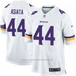 Camiseta Minnesota Vikings Asiata Blanco Nike Game NFL Hombre