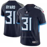 Camiseta NFL Limited Hombre Tennessee Titans 31 Kevin Byard Azul Alterno Stitched Vapor Untouchable
