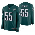 Camiseta NFL Hombre Philadelphia Eagles Brandon Graham Verde Therma Manga Larga