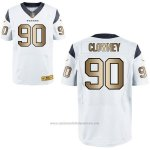 Camiseta Houston Texans Clowney Blanco Nike Gold Elite NFL Hombre