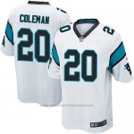 Camiseta Carolina Panthers Coleman Blanco Nike Game NFL Nino