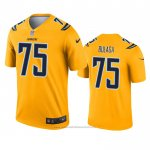 Camiseta NFL Legend Los Angeles Chargers Bryan Bulaga Inverted Oro