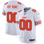 Camiseta NFL Limited Cleveland Browns Personalizada Team Logo Fashion Blanco