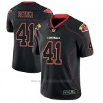 Camiseta NFL Limited Arizona Cardinals Antoine Bethea Negro Color Rush 2018 Lights Out