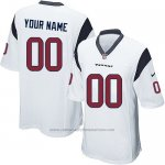 Camisetas NFL Replica Nino Houston Texans Personalizada Blanco