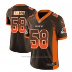 Camiseta NFL Limited Cleveland Browns Christian Kirksey Marron 2018 Drift Fashion Color Rush