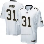 Camiseta New Orleans Saints Byrd Blanco Nike Game NFL Hombre