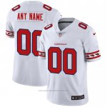 Camiseta NFL Limited Arizona Cardinals Personalizada Team Logo Fashion Blanco